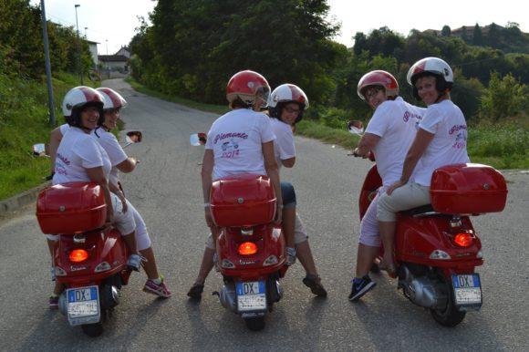 På vespa i Piemonte – fem pigga kollegors reseberättelse
